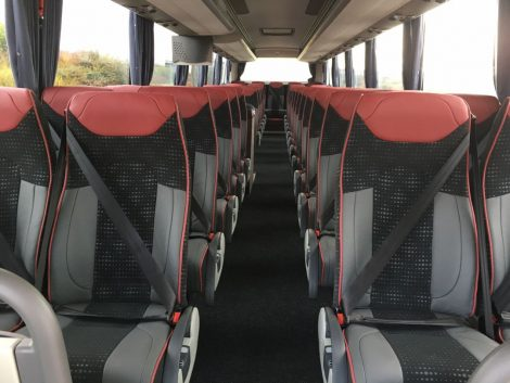 new VDL int grey with redgrey leather